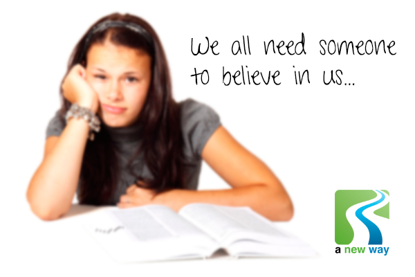 Why we all need someone to believe in us…